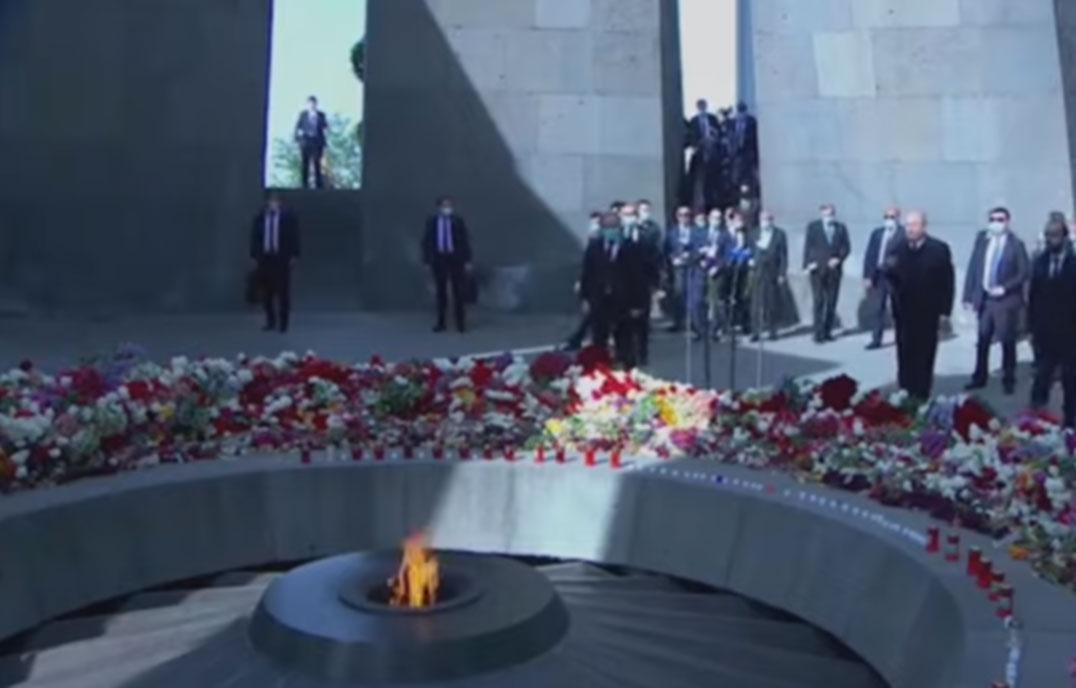 أرمينيا تحيي ذكرى ضحايا إبادة الأرمن
