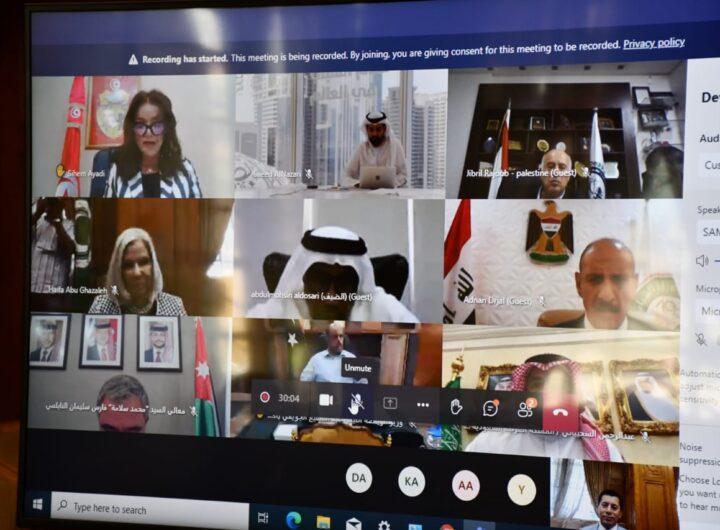 أشرف صبحي يترأس اجتماع المكتب التنفيذي لمجلس وزراء الشباب والرياضة العرب