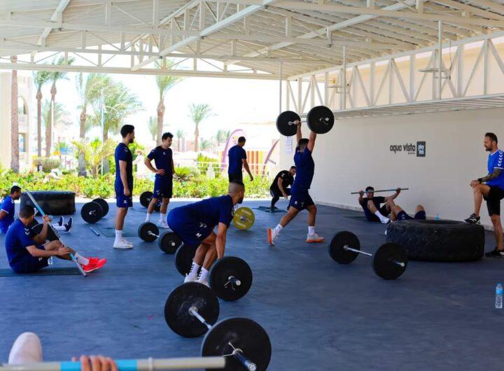 استعدادا للأولمبياد… أشغال شاقة لفراعنة اليد في معسكر «أكوا فيستا»  بالغردقة