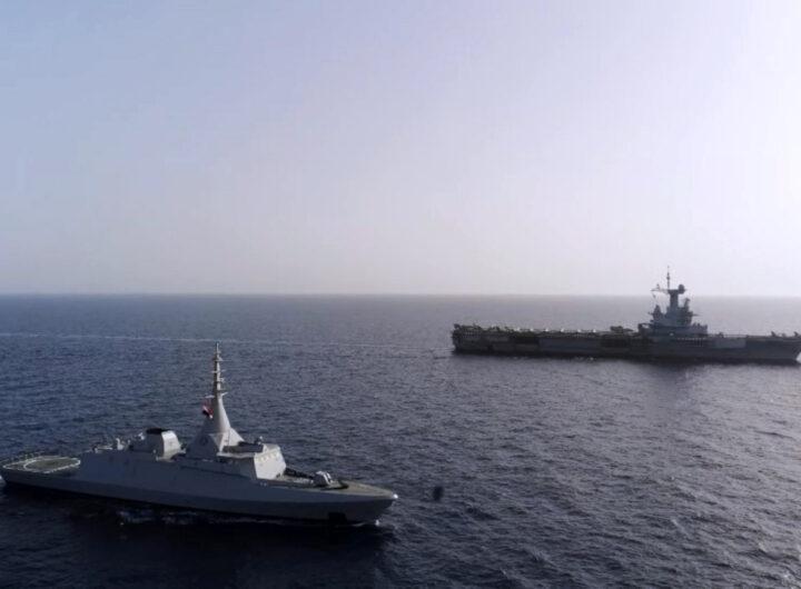القوات البحرية والجوية المصرية والفرنسية تنفذان عدد من الأنشطة التدريبية المشتركة بمصر