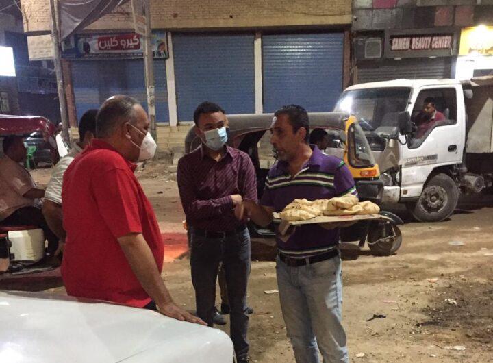 بالصور   رئيس مدينة سمالوط ونوابه يترأسون حملات مكبرة لمتابعة أعمال النظافة وقرار غلق المحالات