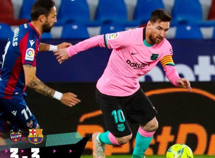 تعادل قاتل لبرشلونة أمام ليفانتي بالدوري الإسباني