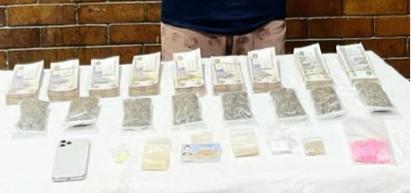 ضبط أحد الأشخاص بالقاهرة لحيازته كميات من المواد المخدرة بقصد الإتجار