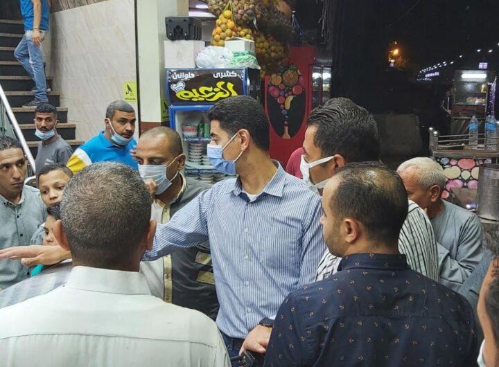 محافظ القليوبية : إستمرار جهود لجان المرور بالوحدات المحلية بنطاق المحافظة للتأكد من غلق المحلات والمقاهي والكافتيريات