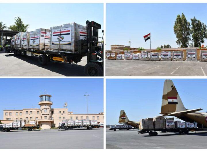 مصر ترسل مساعدات طبية ومواد غذائية للأشقاء فى دولة جيبوتى