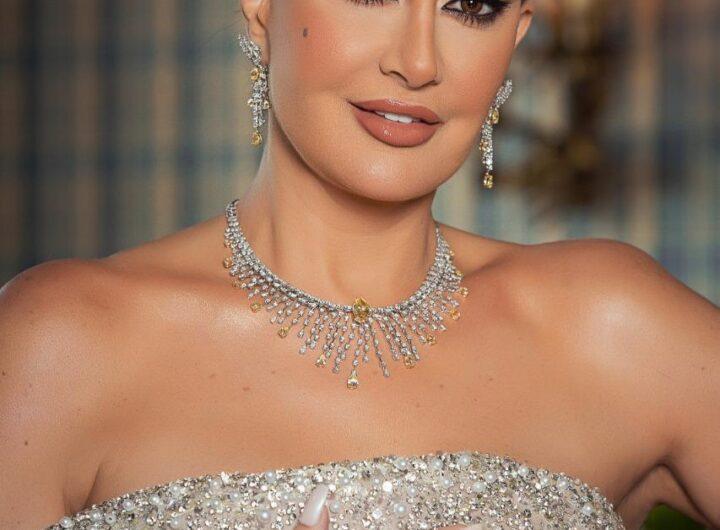 غادة عبد الرازق تحصد جائزة افضل ممثلة عربية بمهرجان أوسكار العرب بدبي